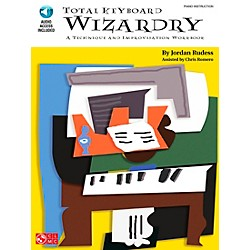Cherry Lane Total Keyboard Wizardry - Technique & Improvisation Workbook Book/CD (2500635)