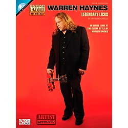 Cherry Lane Warren Haynes Legendary Licks Book/CD (2501700)
