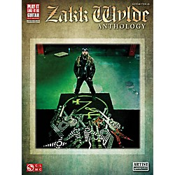 Cherry Lane Zakk Wylde Anthology Guitar Tab Songbook (2501716)