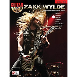 Cherry Lane Zakk Wylde Guitar Play-Along Volume 150 Book/CD (2501717)