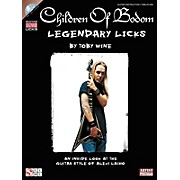 Cherry Lane Children Of Bodom Legendary Licks (Book/CD)