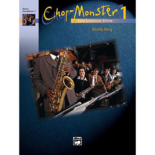 Alfred Chop-Monster Book 1 Tenor Saxophone 1 Book & CD-thumbnail