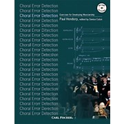 Carl Fischer Choral Error Detection: Exercises for Developing Musicianship Book and CD