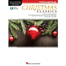 Hal Leonard Christmas Classics (Trombone) Instrumental Play-Along Series Softcover Audio Online