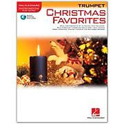 Hal Leonard Christmas Favorites for Trumpet Book/Online Audio Instrumental Play-Along