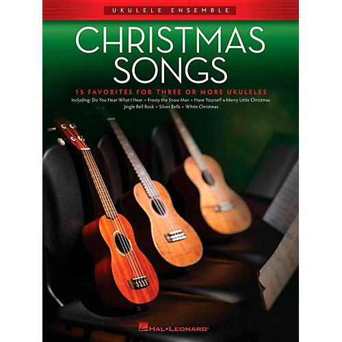 Hal Leonard Christmas Songs - Ukulele Ensemble Series Intermediate-thumbnail