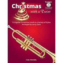 Carl Fischer Christmas With A Twist Book with CD - Trumpet