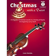 Carl Fischer Christmas With A Twist Book with CD - Violin