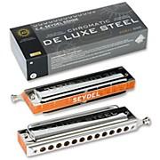 SEYDEL Chromatic DeLuxe Steel Solo Harmonica