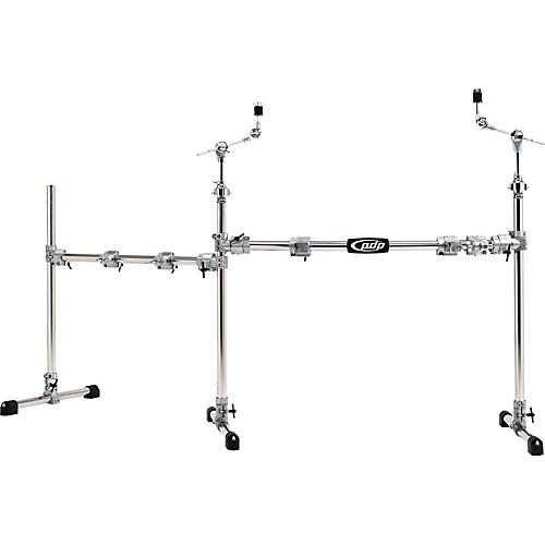PDP by DW Chrome Plated Main and Side Drum Rack Package-thumbnail