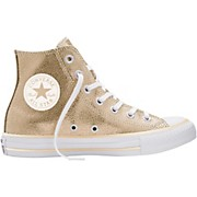 Converse Chuck Taylor All Star Stingray Metallic Hi Top Light Gold (Women's)