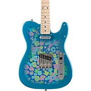Fender Classic '69 Blue Flower Telecaster Maple Fingerboard