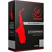 Gonzalez Classic Alto Saxophone Reeds Box of 10