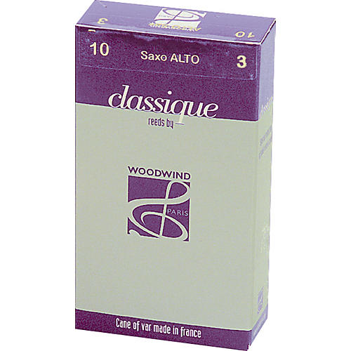 Woodwind Paris Classic Alto Saxophone Reeds Strength 3