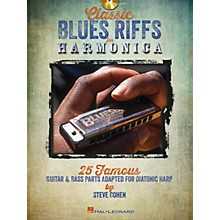 Hal Leonard Classic Blues Riffs for Harmonica Harmonica Series Softcover with CD Written by Steve Cohen
