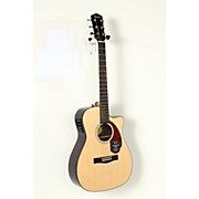 Fender Classic Design Series CC-140SCE Cutaway Concert Acoustic-Electric Guitar
