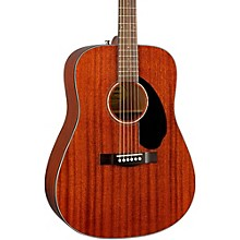 Fender Classic Design Series CD-60S All-Mahogany Dreadnought Acoustic Guitar