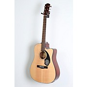 Fender Classic Design Series CD-60SCE Cutaway Dreadnought Acoustic-Electric Guitar