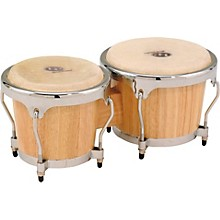 LP Classic II Bongos with Chrome Hardware