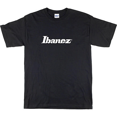 Ibanez Classic Logo T-Shirt Black Extra Large-thumbnail