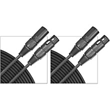 D'Addario Planet Waves Classic Series Microphone Cable (Lo-Z) 2-Pack