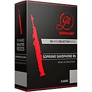 Gonzalez Classic Soprano Saxophone Reeds Box of 10
