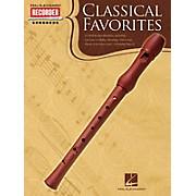 Hal Leonard Classical Favorites (Hal Leonard Recorder Songbook) Recorder Series Softcover