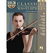 Hal Leonard Classical Masterpieces - Violin Play-Along Volume 25 Book/CD