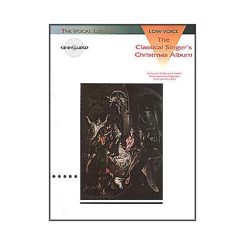 Hal Leonard Classical Singers Christmas Album for Low Voice Book/CD-thumbnail