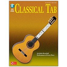 Cherry Lane Classical Tab Guitar Songbook Book/CD