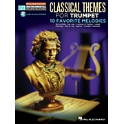 Hal Leonard Classical Themes - Trumpet - Easy Instrumental Play-Along Book with Online Audio Tracks