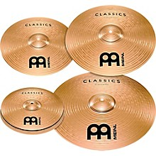 "Meinl Classics Bonus Pack Cymbal Box Set with FREE 18"" Crash"