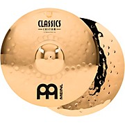 Meinl Classics Custom Medium Hi-Hats - Brilliant