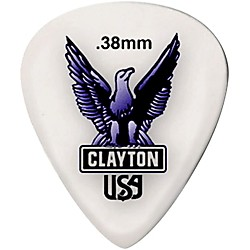 Clayton Acetal Standard Guitar Picks (S38/12)