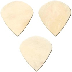 Clayton Exotic Bone Jazz Guitar Picks - 3-Pack (BJJ/3)