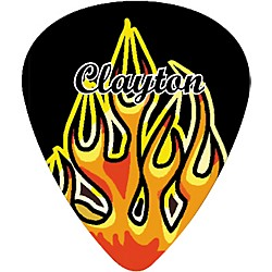Clayton Flame Guitar Picks Standard (MFS50/12)