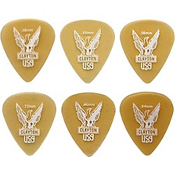 Clayton Ultem Standard Guitar Picks (US38/12)