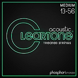 Cleartone Coated Phosphor-Bronze Medium Acoustic Guitar Strings (7413)