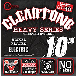 Cleartone Monster Black Series Light Electric Guitar Strings (C9510B)