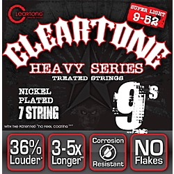 Cleartone Monster Heavy Series Nickel Plated 7-String Super Light Electric Guitar Strings (C9409-7)