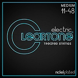 Cleartone Nickel-Plated Medium Electric Guitar Strings (9411)