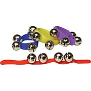 Rhythm Band Colored Velcro Wrist and Ankle Bells