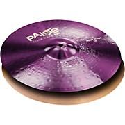 Paiste Colorsound 900 Heavy Hi Hat Cymbal Purple