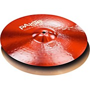 Paiste Colorsound 900 Heavy Hi Hat Cymbal Red