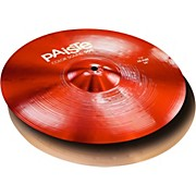Paiste Colorsound 900 Hi Hat Cymbal Red
