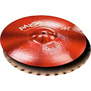 Paiste Colorsound 900 Sound Edge Hi Hat Cymbal Red