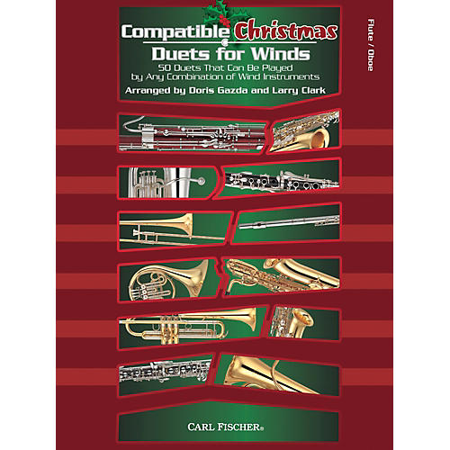 Carl Fischer Compatible Christmas Duets for Winds: Flute / Oboe-thumbnail