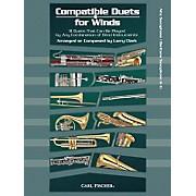 Carl Fischer Compatible Duets for Winds: Alto Saxophone/Baritone Saxophone Book