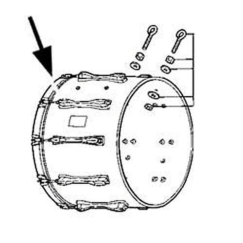 Pearl Competitor Series Bass Drum Hoops-thumbnail
