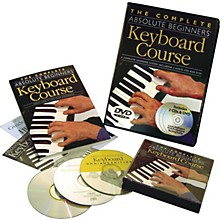 Music Sales Complete Absolute Beginners Keyboard Couse (Book/CD/DVD)